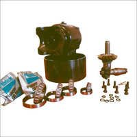 Pto pulley with spare parts