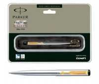 Parker Vector Stainless Steel Ball Pen (GT)