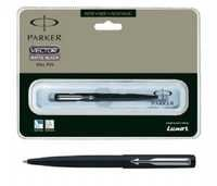 Parker Vector Matte Black Ball Pen (CT)-Free Engraving