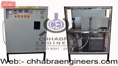 mechanical Refrigeration & air-conditioner Lab
