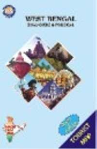 West Bengal Tourist Map