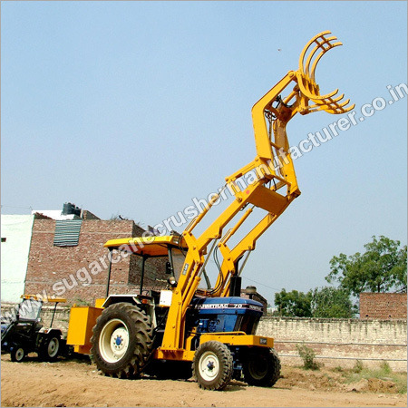 Heavy Duty Sugarcane Grabber Cum Loader