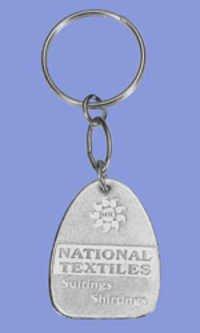 Simple Embossed Key Chain