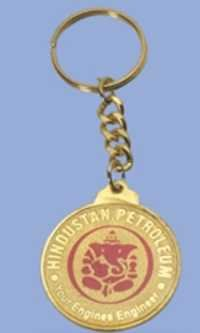 Gold Plated Key Ring