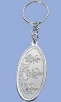 Silver Plated Key Rings