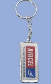 Silver Plated Key Ring