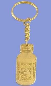 Cutout Key Chain