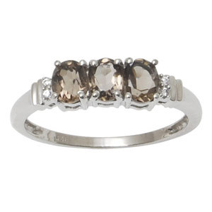 gold pattern like silver ring with smopkey and cz