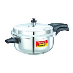 Deluxe Plus Stainless Steel Deep Pressure Pan with Lid