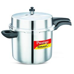 Deluxe Plus Stainless Steel Pressure Cooker 10 Lt