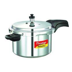 Deluxe Plus Aluminium Pressure Cooker 5 Lt