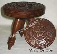 VINTAGE SMALL PENTAGRAM ALTER TABLE