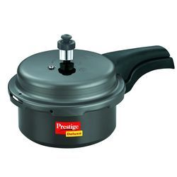 Deluxe Hard- Anodized Pressure Cooker 2.5 Lt