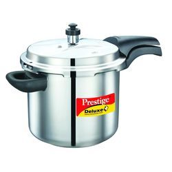 Deluxe Plus Stainless Steel Pressure Cooker 5.5 Lt