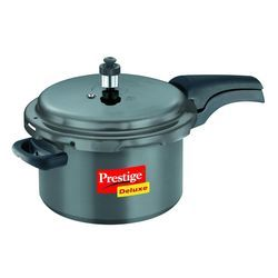 Deluxe Hard- Anodized Pressure Cooker 5 Lt