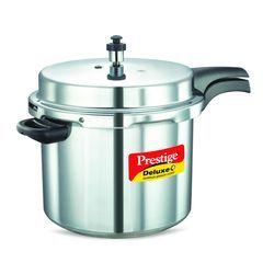 Deluxe Plus Aluminium Pressure Cooker 10 Lt