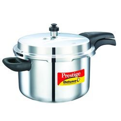 Deluxe Plus Stainless Steel Pressure Cooker 6.5 Lt