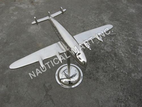 Vintage Aluminum Wings Aeroplane