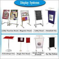 Standing Display Systems