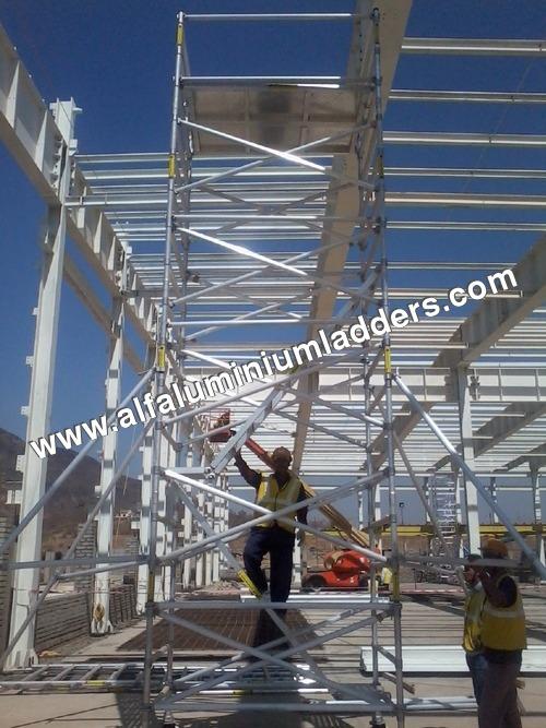 Aluminium Mobile Scaffolding