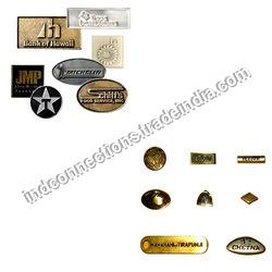 Metal Brand Logo