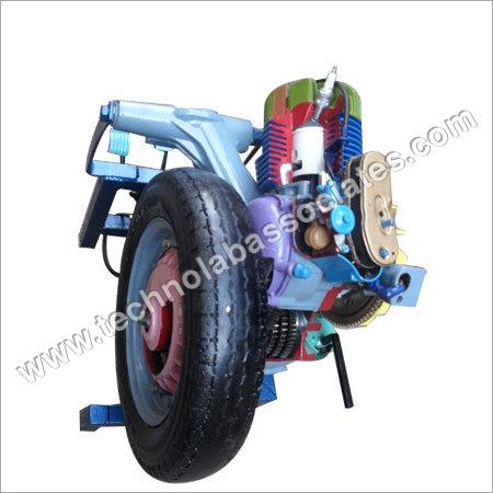 Scooter Engine Model