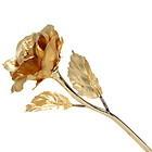 Special Wedding Gift - 18K Gold Foil Open Rose