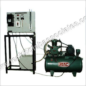 Single Stage Air Compressor Test Rig