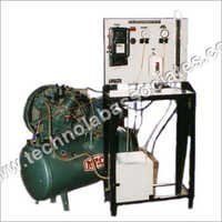 Two Stage Air Compressor Test Rig