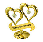 DOUBLE-HEART-HAPPY-ANNIVERSARY-24K-GOLD-PLATED-GIFT-SWAROVSKI-CRYSTALS