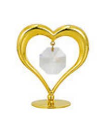 HEART-SHOW-PIECE-24K-GOLD-PLATED-GIFT-SWARVOSKI-CRYSTALS