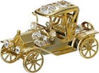 VINTAGE-CAR-PREMIUM-SHOW-PIECE-24K-GOLD-PLATED-GIFT-SWAROVSKI-CRYSTALS