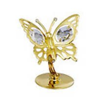 BUTTERFLY-SHOW-PIECE-24K-GOLD-PLATED-GIFT-SWAROVSKI-CRYSTALS