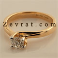 Solitaire Diamond Ring For Girls