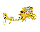 HORSE-CARRIAGE-SHOW-PIECE-24K-GOLD-PLATED-GIFT-SWAROVSKI-CRYSTALS-