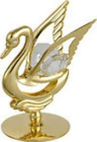 SWAN-SHOW-PIECE-24K-GOLD-PLATED-GIFT-SWAROVSKI-CRYSTALS-