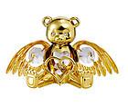 ANGEL-BEAR-24K-GOLD-PLATED-GIFT-SWAROVSKI-CRYSTALS