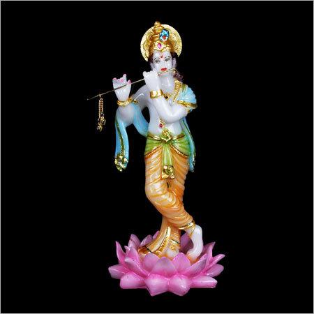 Fibre Krishna Statues