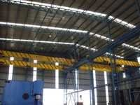 SINGLE GIRDER OVERHEAD CRANE FOR HEAVY FABRICATION