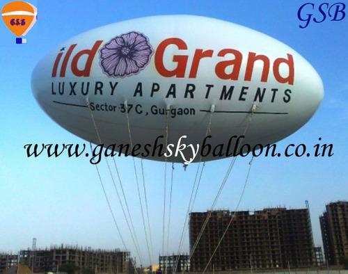 Sky Advertisement Balloon