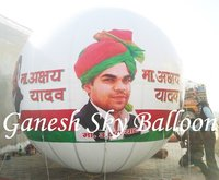 Political Advertising Balloons