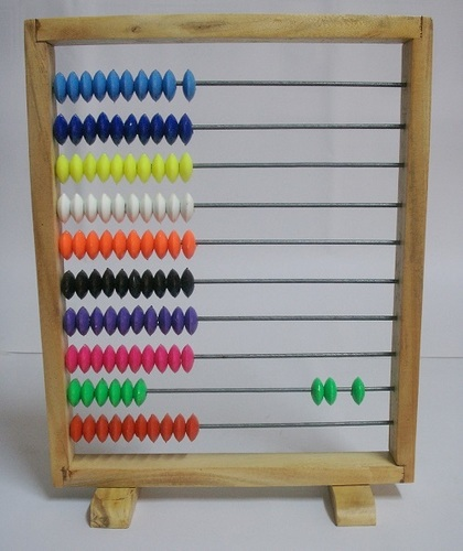 Wooden Abacus For Mathematics kit