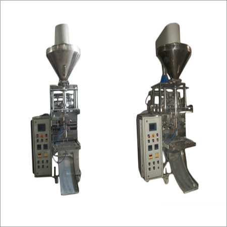 Collar Type With Auger Filler  Pneumatic Machine