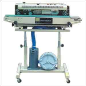 Band Sealer Gas Filling Machine