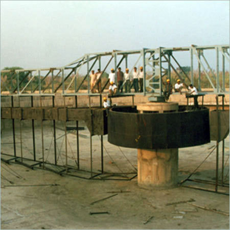 Clarifier Under Installation