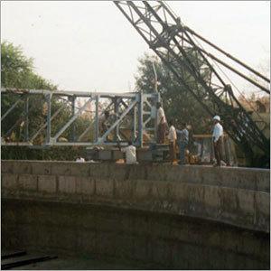 Clarifier Bridge Installation