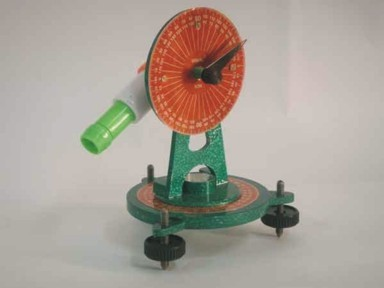 Theodolite Model For Mathematics kit