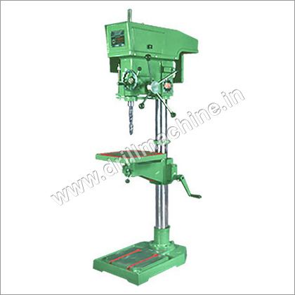 Manual Feed Pillar Drilling Machine