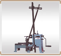 Carlson Type Spring Hand Coiling Machine