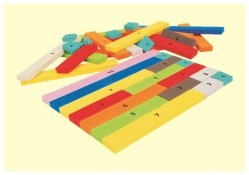 Cusinaire Strips For Mathematics